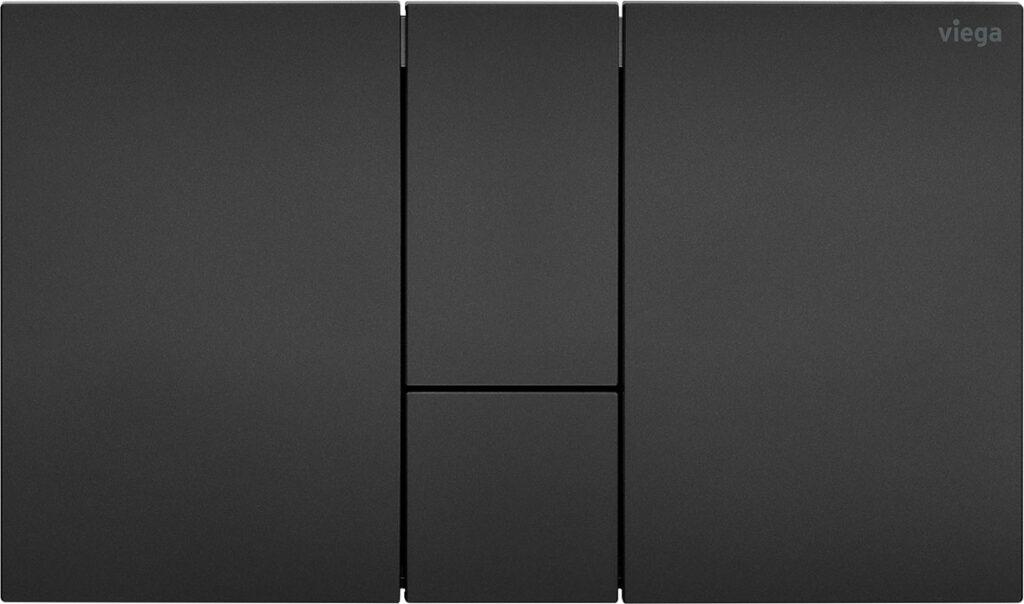 przyciski uruchamiajace do wc w stylowej matowej czerni nowa odslona serii viega visign for style3 1024x604 - Przyciski uruchamiające do WC w stylowej matowej czerni - nowa odsłona serii Viega Visign for Style