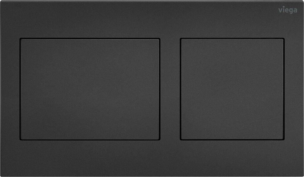 przyciski uruchamiajace do wc w stylowej matowej czerni nowa odslona serii viega visign for style5 1024x598 - Przyciski uruchamiające do WC w stylowej matowej czerni - nowa odsłona serii Viega Visign for Style
