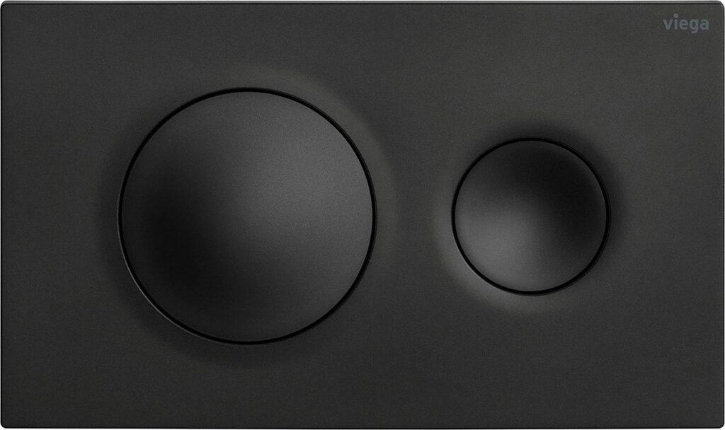 przyciski uruchamiajace do wc w stylowej matowej czerni nowa odslona serii viega visign for style6 1024x608 - Przyciski uruchamiające do WC w stylowej matowej czerni - nowa odsłona serii Viega Visign for Style