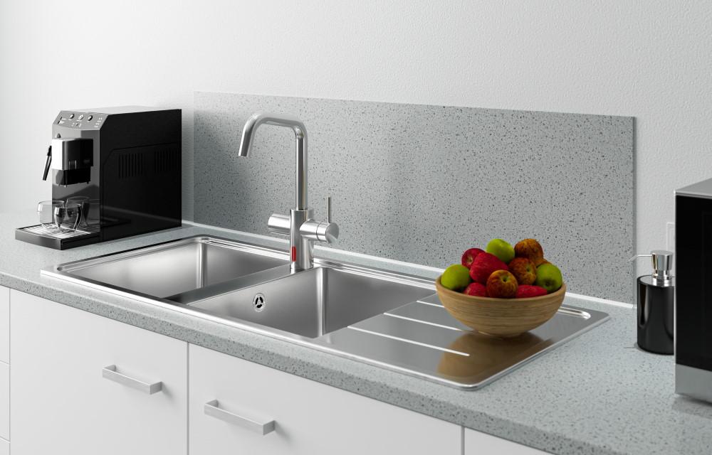 bezdotykowa higiena w kuchni2 - Armatura na podczerwień SCHELL GRANDIS E - bezdotykowa higiena w kuchni