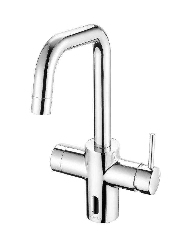 bezdotykowa higiena w kuchni3 - Armatura na podczerwień SCHELL GRANDIS E - bezdotykowa higiena w kuchni