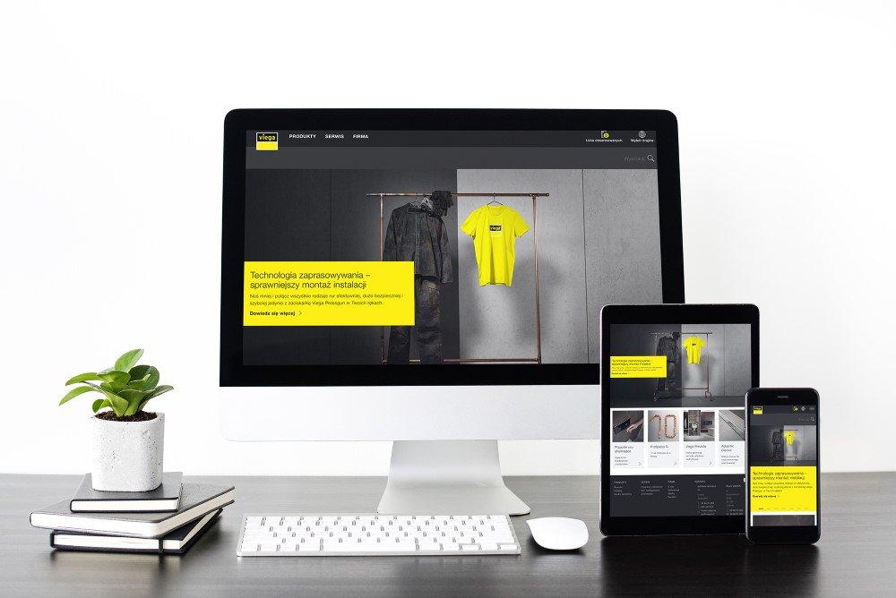 nowa w pelni responsywna strona internetowa firmy viega - Doskonale zoptymalizowana pod kątem wszystkich urządzeń - nowa, w pełni responsywna strona internetowa firmy Viega