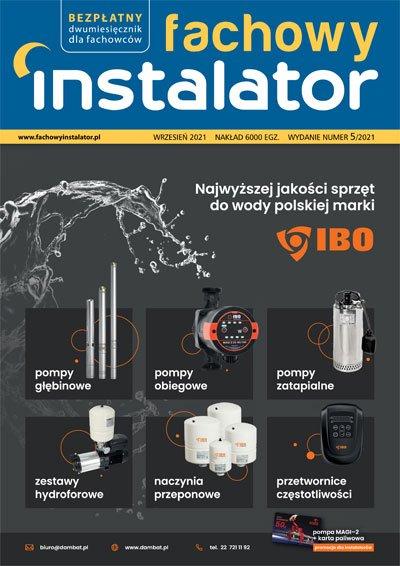fachowy instalator 2021 5 okladka - Fachowy Instalator 5/2021
